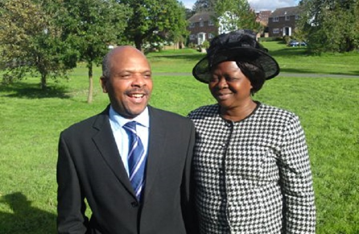 Pastor Ade Oluwayinka and his wife