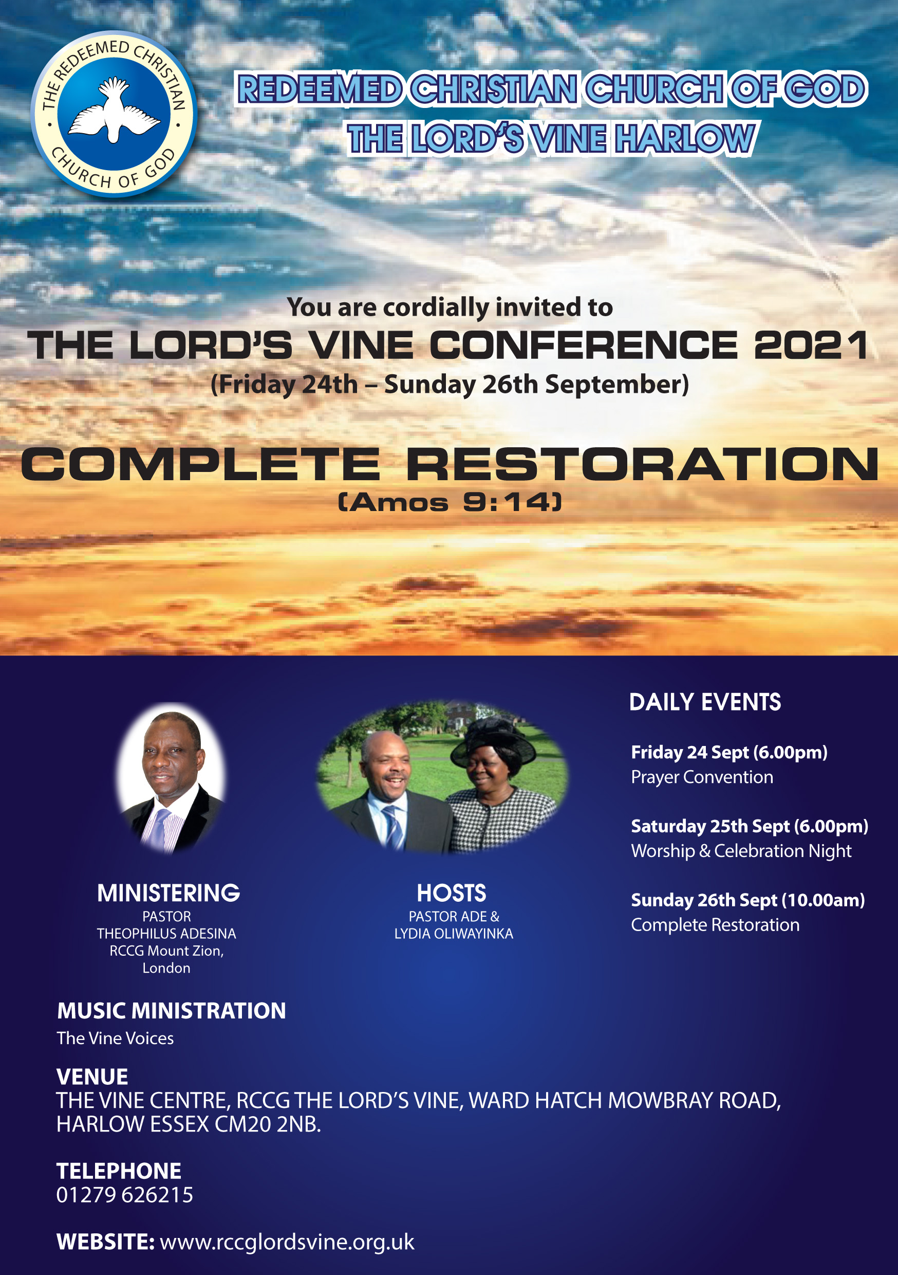 The Lord's Vine – RCCG Conference 2021